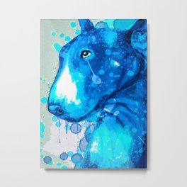 Bull Terrier Limited Edition Metal Print