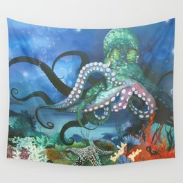 Illuminated Depth Wall Tapestry