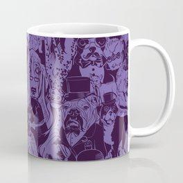 Dapper Dogs_Purple Coffee Mug