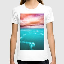 Fire and Water Sea T-shirt
