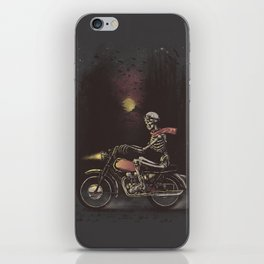Death Rides in the Night iPhone Skin