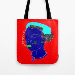 Anxious Lady Tote Bag