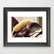 Saddle Up Framed Art Print