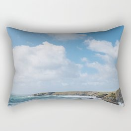 Bedruthan Steps Newquay Cornwall Rectangular Pillow