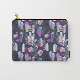 Moths and Crystals Carry-All Pouch