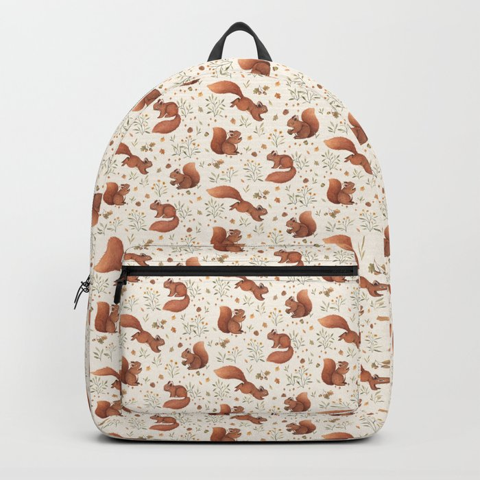Furry Squirrel Backpack