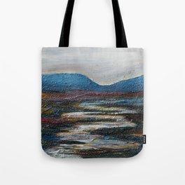 The bog river through Connemara, Ireland by Machale O'Neill Tote Bag