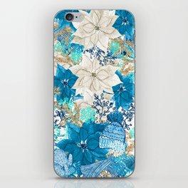 Blue Winter iPhone Skin