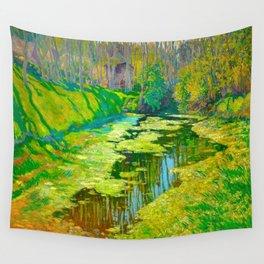 Václav Radimský (1867-1946) Modern Impressionist Oil Painting Colorful Bright Landscapes Wall Tapestry