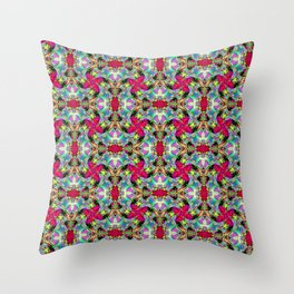 Buckle Brick Pattern Throw Pillow