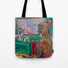 Big Brother Coffee Shop Tote Bag