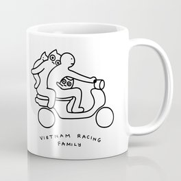 Vietnam racing family Coffee Mug