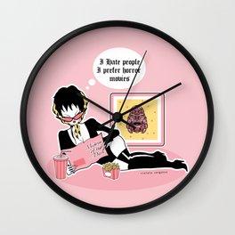 Mistress of the Dark Wall Clock