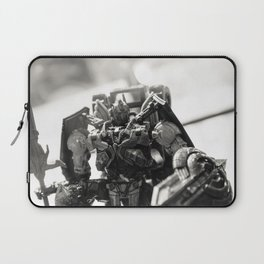 """Knights. Autobots. This cannot & will not be the end"" Laptop Sleeve"