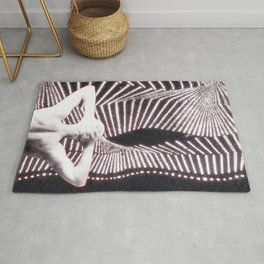 noise of stillness Rug