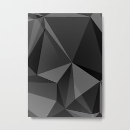 Low poly mess Metal Print