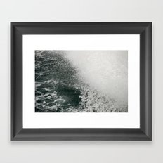 Maine Ferry Wake Framed Art Print