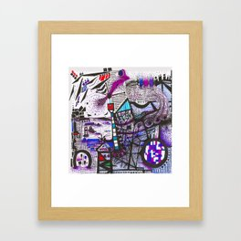 Thinking of trusses and aerials. Framed Art Print