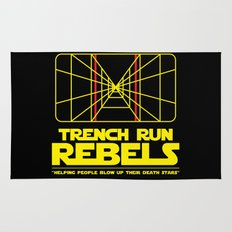 Trench Run Rebels Rug