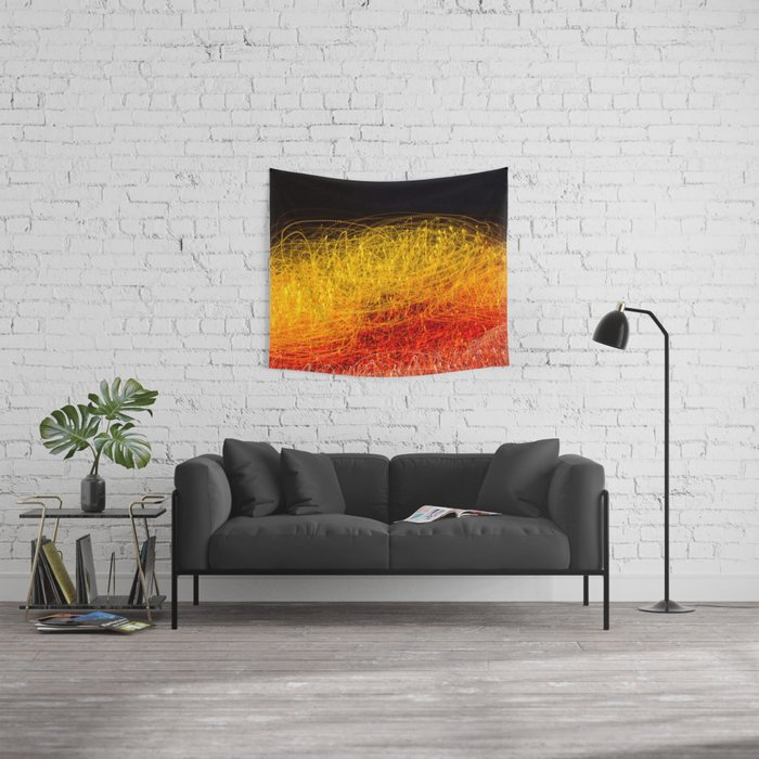 Light In Motion Wall Tapestry