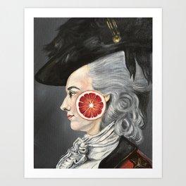Copley Lady Art Print