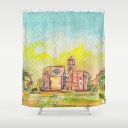 Roman Forum Shower Curtain