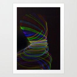 Fabric of Light X Art Print