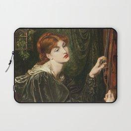 Dante Gabriel Rossetti - Veronica Veronese Laptop Sleeve