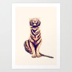 Zen Tiger  Art Print