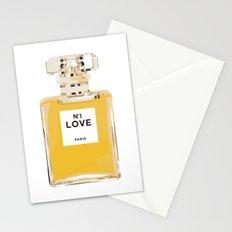 Fashion Perfume Bottle Stationery Cards