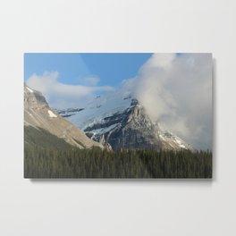 Clouds & Glaciers Metal Print