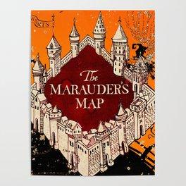 Marauders Map Posters   Society6