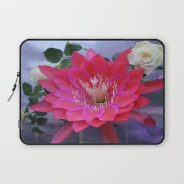 Roses Are White, Cactus is Rose... Laptop Sleeve