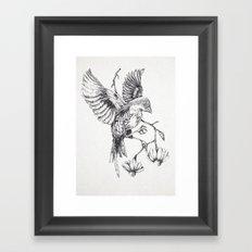 Come il vento tra le costole Framed Art Print