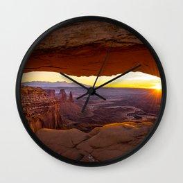 Mesa Arch 2 Wall Clock
