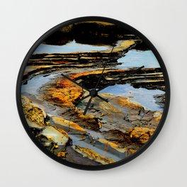 Tide Pools Wall Clock