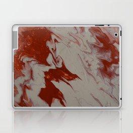Orange Creamsicle Pour Laptop & iPad Skin