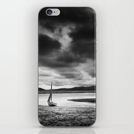 All alone on the Dovey Estuary Wales iPhone Skin