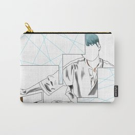 BTS Suga 'Her' Design Carry-All Pouch