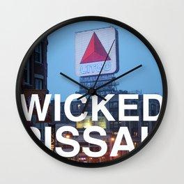 Wicked Pissah - Boston Photo Wall Clock