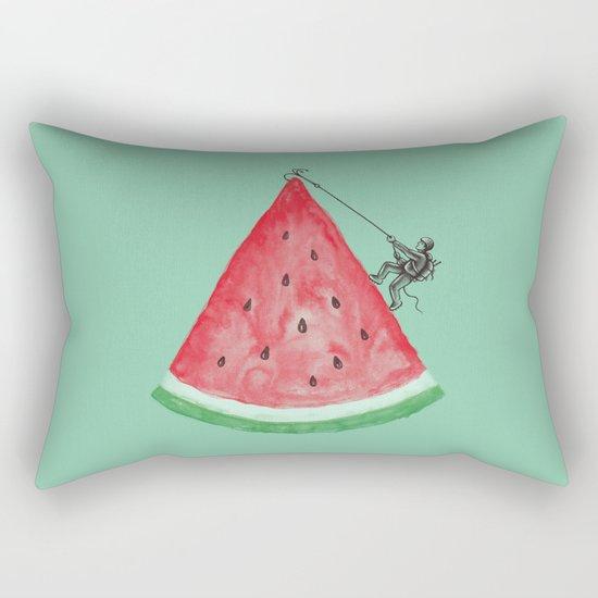 Summer Climb Rectangular Pillow