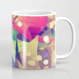Senbazuru | pink and green Coffee Mug
