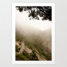 Mountain Walk Art Print