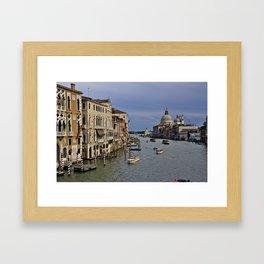 Grand Canal Venice Framed Art Print