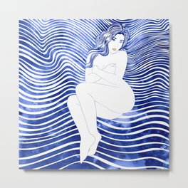 Water Nymph XLII Metal Print