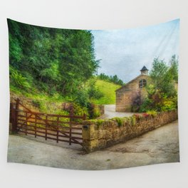 Country Stables Wall Tapestry