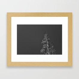 One Dead Tree 2 Framed Art Print