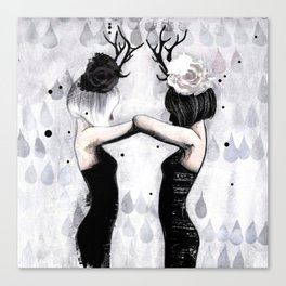Castor Canvas Print