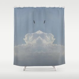 Sky high Shower Curtain