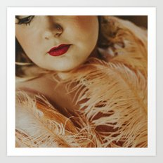 Burlesque Art Print